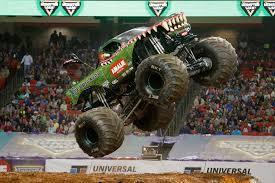 monster truck jam atlanta falcons vs monster trucks falcons win 11alive com