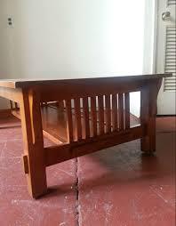 mission style coffee table u2013 used furniture warehouse