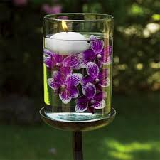 Vases With Flowers And Floating Candles Tales From An Upstate Diy Floating Candle Holders