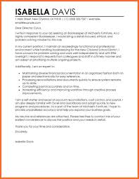 Cover Letter For Bookkeeper Sample Cover Letter Accounting Soap Format