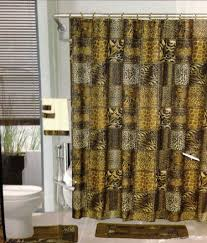 Leopard Print Shower Curtain by 100 Leopard Print Bathroom Accessories Yellow And Grey