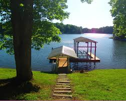 a relaxing trip with the family to a lake house with no outside