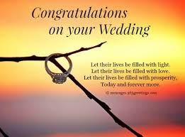 wedding greetings wedding congratulation messages wordings and messages