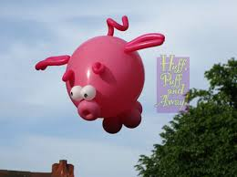 pig balloons pin by feestfeest on balloon animals land