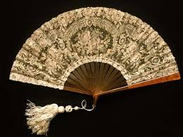 lace fans belgian lace fan 1880 lace linens and vintage clothing 2