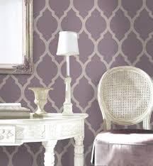 Wallpaper Master Bedroom Ideas Love The Purple And Metallic Wallpaper Master Bedroom Accent Wall