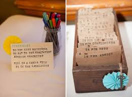 wedding guest book picture of non traditional and creative wedding guest book ideas