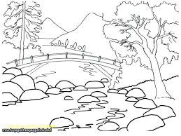 free printable coloring pages for adults landscapes printable scenery coloring pages jungle scenery coloring pages