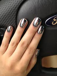 metallic nail foil wraps 2 fashion nail gold and silver
