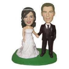 cake toppers bobblehead custom wedding bobbleheads
