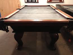 Peter Vitalie Pool Table by Peter Vitalie Brown Pool Table Sheridan Billiards Colorado