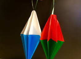 origami for beginners easy ornament