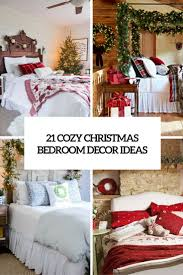Decorating Ideas For Bedrooms by 21 Cozy Christmas Bedroom Décor Ideas Shelterness