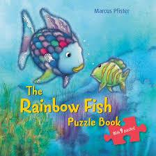rainbow fish puzzle book marcus pfister 9780735840966