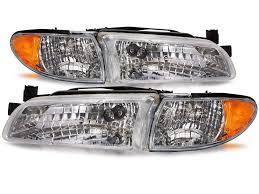 amazon com pontiac grand prix new headlamps set headlights pair