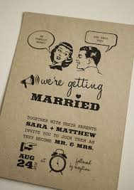 Wedding Announcement Template Breathtaking 50s Style Wedding Invitations 25 On Wedding