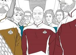 dark horse star trek coloring books 2017 trekcore blog