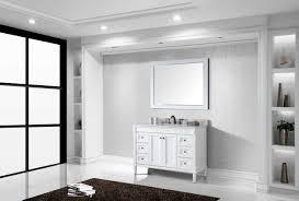 Bathroom Vanities Made In Usa Virtu Usa Es 40048 Wmsq Wh Tiffany 48 In Bathroom Vanity Set