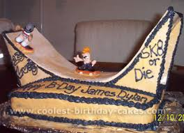 amazing cake ideas for a skateboarding theme