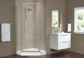 ideas for bathroom showers shower base and wall replacement at the home depot