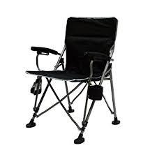 Armchair Sports Amazon Com The Aviator Portable Armchair In Black Sports U0026 Outdoors