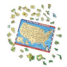 us map puzzle wood doug usa map wooden peg sound puzzle 40 toys r us