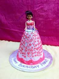 barbie birthday cakes rashmi u0027s bakery