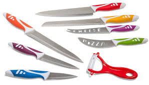 safety kitchen knives amazon com den haven professional chef knives multi use 8pc gift