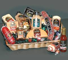 meat and cheese gift baskets large premium cheese and meat basket from joe s produce