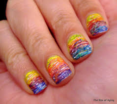 summer time nail art challenge bright colors the rite of aging
