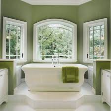 paint colors for bathrooms with sage green walls and white windows