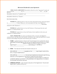 9 free lease template letter template word