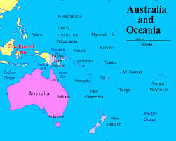 Oceania Map Oceania Challenge Tournament Auckland New Zealand March 2017