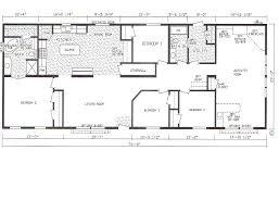 triple wide floor plans triple wide manufactured homes floor plans home decoration