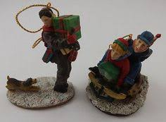 norman rockwell ornaments rockwells celebration of santa set of 4