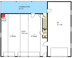 garage floor plans with apartments rv garage with apartment above 35489gh architectural designs