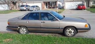 audi 5000 for sale 1987 audi 5000 cs turbo identical quattro parts parts