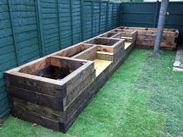 planters awesome raised planter box plans raised planter box