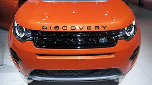 orange range rover sport land rover discovery sport makes its paris debut live photos