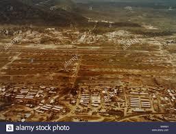 K He Suchen Luftaufnahme Des Heliport Der 1 Kavallerie Division Bei An Khe