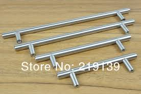 480mm t shape furniture cabinet stainless steel door handle drawer