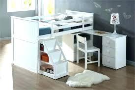 bureau avec rangement intégré lit mezzanine avec rangement bureau avec rangement au dessus lit