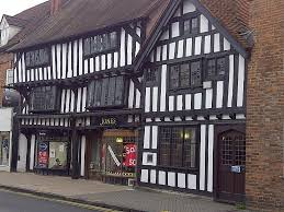 tudor era architecture mid 1500s in the downtown this u201cmortar