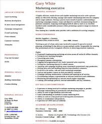Sales And Marketing Manager Resume Examples by Marketing Executive Resume Are Examples Advertising Sales
