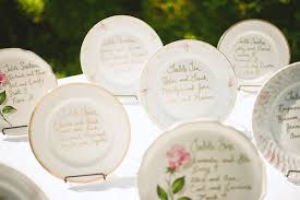 wedding table assignment board beautiful vintage inspired plates with hand written table