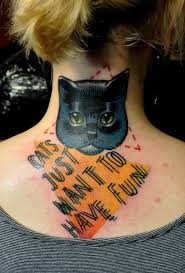 10 awesome cat tattoos