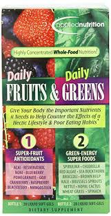 amazon com applied nutrition daily fruits and daily greens 28