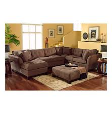 Most Comfortable Couches Hm Richards Espresso Beckham 3 Pc Sectional With Chaise At Www