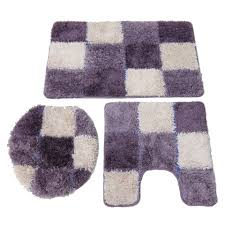 Bathroom Rugs And Accessories 3 Bathroom Rug Sets Home Design Ideas And Pictures