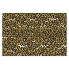 cheetah print tissue paper animal print craft tissue paper zazzle